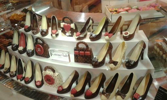 Sconto del 60% Sconto del 60% ma non volgare Scarpe di cioccolato all'ultimo piano!! - Picture of La ...