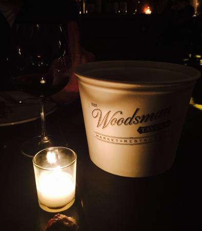 The Woodsman tavern: Cool old school bucket & cozy ambiance!