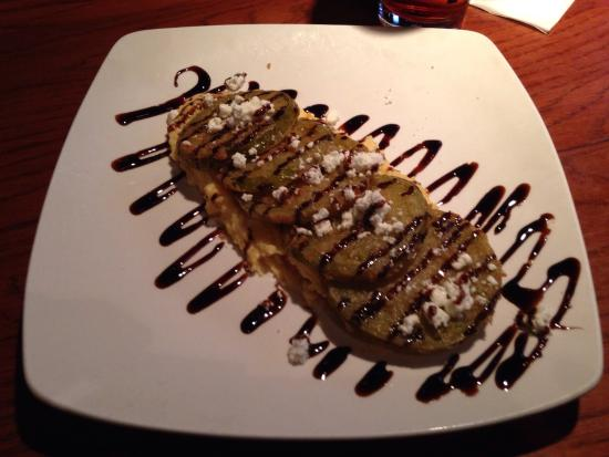 Sullivan's Downtown : Fried green tomatoes