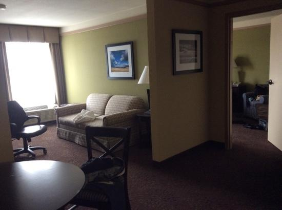 Holiday Inn Express Silver City: lots of space and places to sit