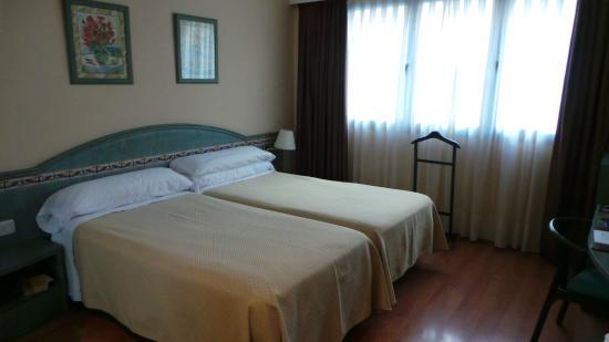 Hotel Monte Carmelo: Vue de la chambre