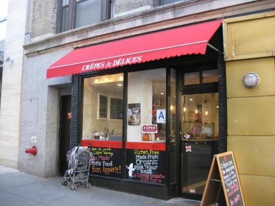 Photo of French Restaurant Crepes & Delices at 124 W 72nd St, New York City, NY 10023, United States