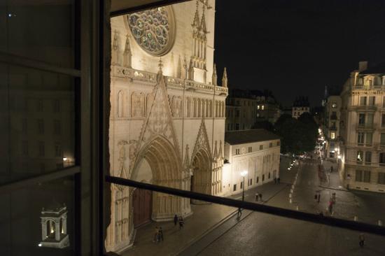 Apart'Observatoire Saint Jean: Vieux-Lyon : vue du salon
