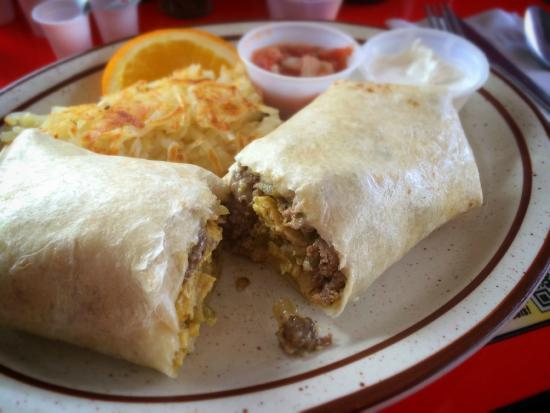 Crazy Otto's Empire Diner: Breakfast burrito