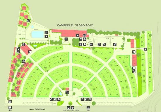 camping globo rojo canet de mar espagne voir les tarifs et avis camping tripadvisor. Black Bedroom Furniture Sets. Home Design Ideas