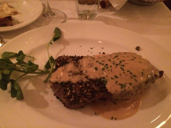 Capital Grille: Steak au poivre