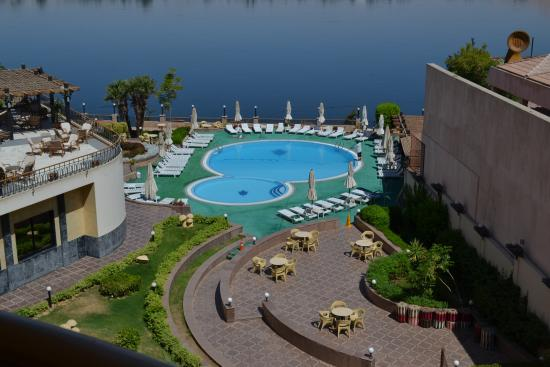 Lotus Luxor Hotel: view from my room.