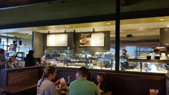 Jason's Deli: Jason's Counter