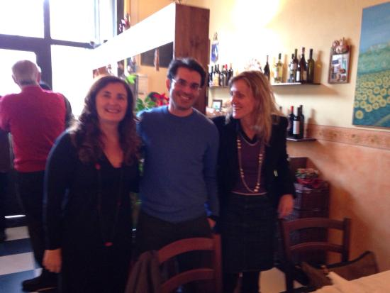 Il Girasole: Elisa, Alberto e Debora