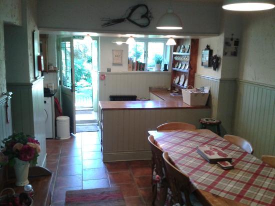 Backworth, UK: dining room
