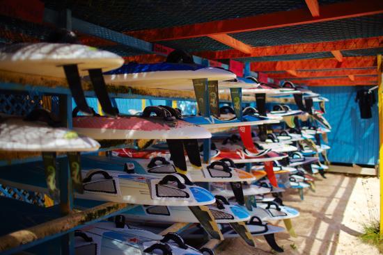 Bonaire, a windsurfer's dream