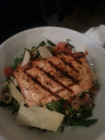 Romano's Macaroni Grill: We love this salad with salmon.