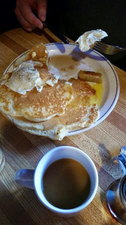 The Ol' Frontier: Pancakes and coffee
