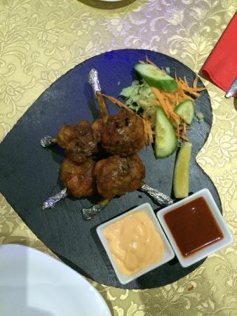 Kathmandu Zone Restaurant & Banquet: Starter - Chicken lollipop
