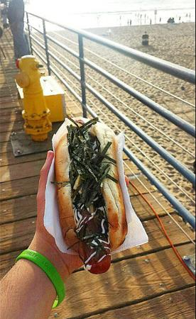 Japadog at Santa Monica Pier