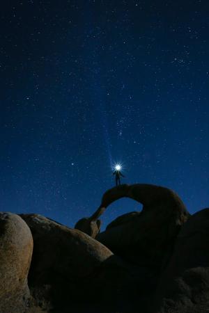 Lone Pine, Kalifornien: mobius arch - alabama hills!