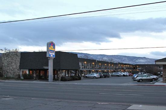 Best Western Trailside Inn : December 29, 2014.....brrrrr