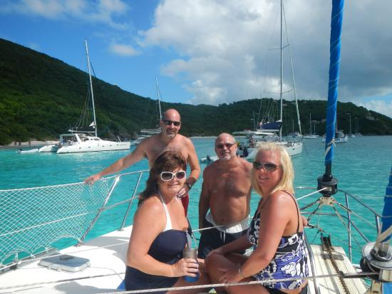Sterling House: Boat tour to Jost Van Dyke BVI on Thanksgiving 11-27-14