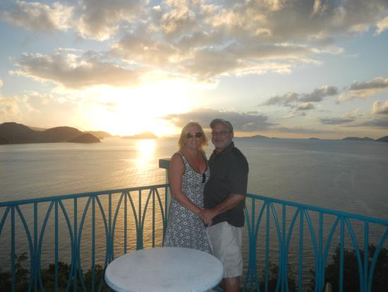 Bananakeet Rest. - short taxi ride from Sterling House Tortola