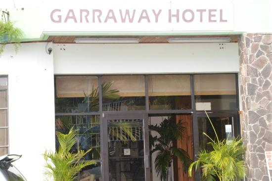 Garraway Hotel: seedy looking and run down