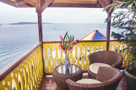 Hotel Bocas del Toro : Terrace Sea View