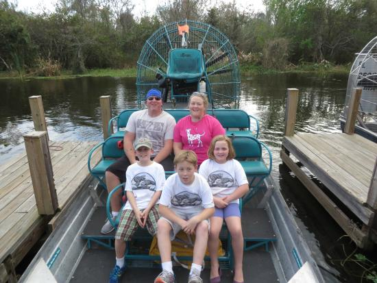 Airboats & Alligators: Airboat