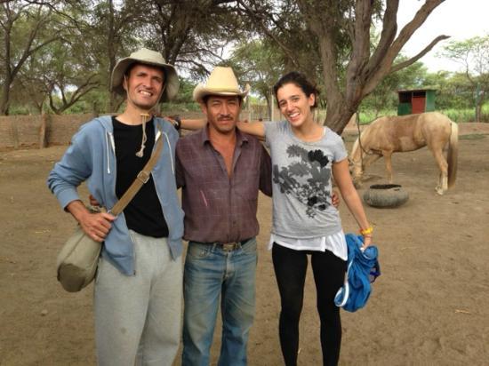 Rancho Santana: Manuel and us!