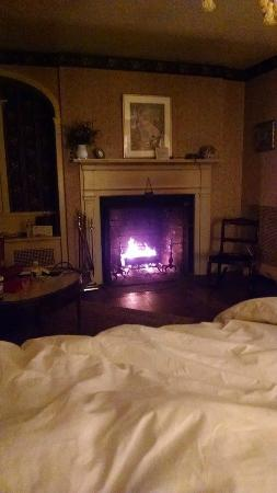 Devonfield Inn : Fireplace in the room