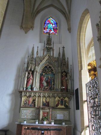 Stadtpfarrkirche: Vue d'un petit autel