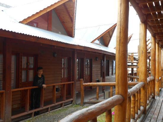 Cabanas Portal del Glaciar: desde la habitacion