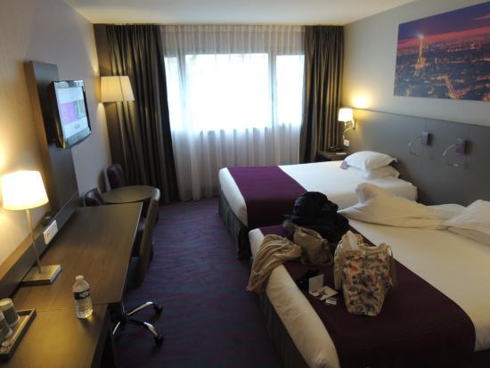 Mercure Paris 19 Philharmonie La Villette Hotel : 室内