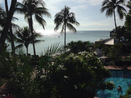 Coconut Beach Resort : View from second floor room