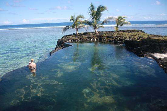 Sea pool Picture of SaMoana Beach Bungalows Salamumu TripAdvisor