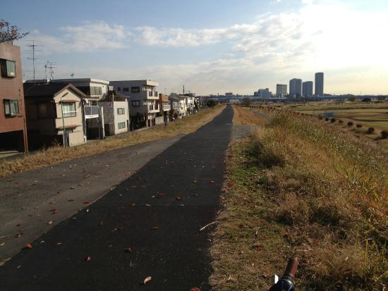 Kanto, Japon : Tamagawa Cycling Road