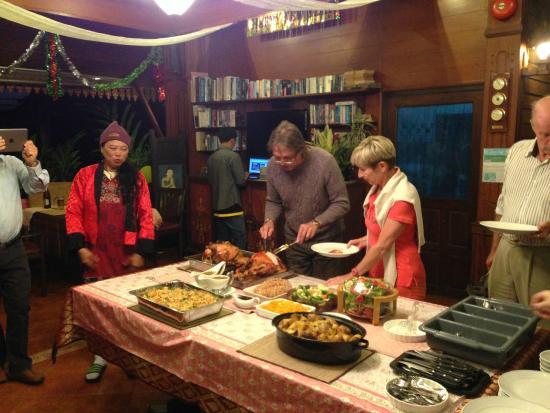 Viang Yonok Hotel, Restaurant, Sports Club: Christmas Dinner