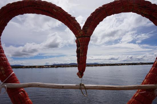 Cultural Immersion Day Tours: Picture of Lake Titicaca from the Uros Islands