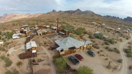Castle Dome Mines Museum & Ghost Town: Overhead View