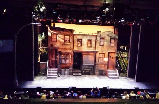 New World Stages: Avenue Q Set