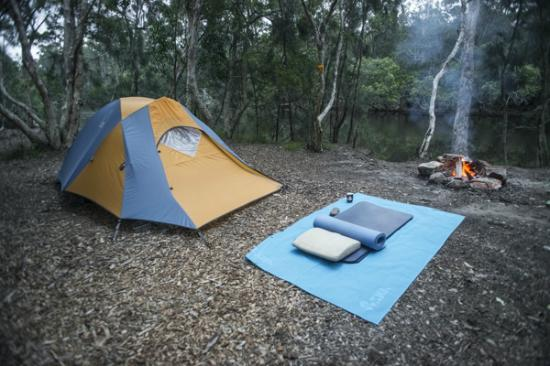 Jervis Bay Cabins: My camp site