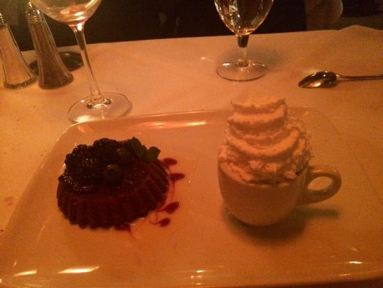 Ruth's Chris Steak House: Chocolate Duo