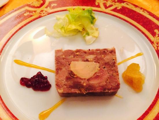 Le Pasturier : Canard with foie gras