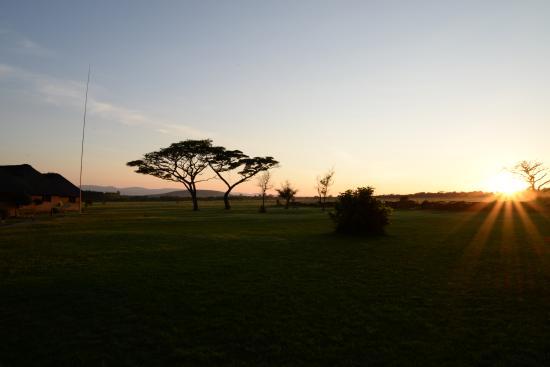 Legend Golf and Safari Resort : back yard view