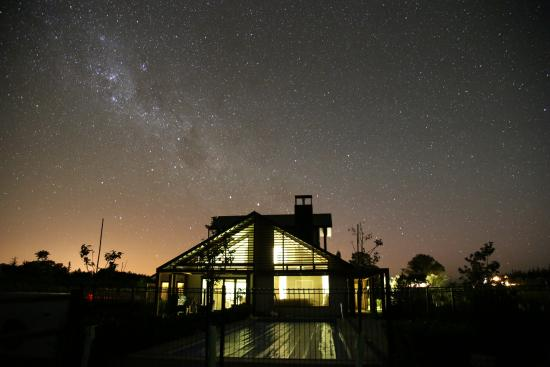 Pine Hill Lodge: Starry sky on a clear night at the lodge