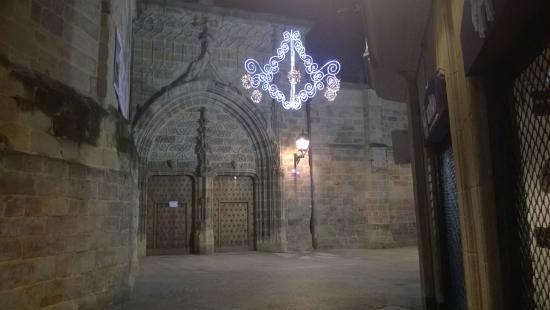 Catedral de Santiago: Portale di accesso al chiostro
