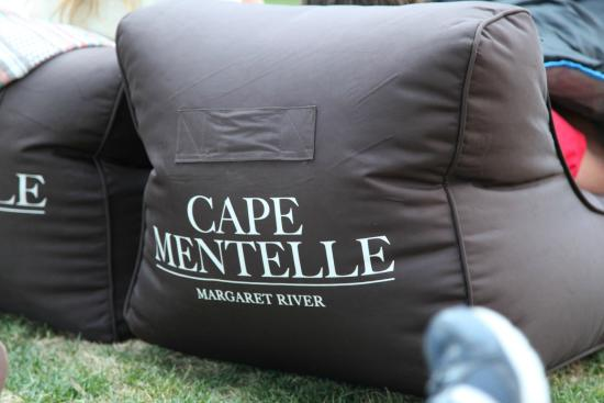 Cape Mentelle Wines: Book early to secure a bean bag bed