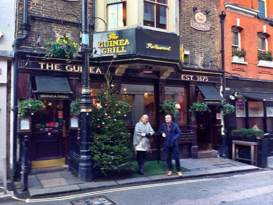 December 2014 picture of guinea grill london tripadvisor guinea grill december 2014 publicscrutiny Image collections