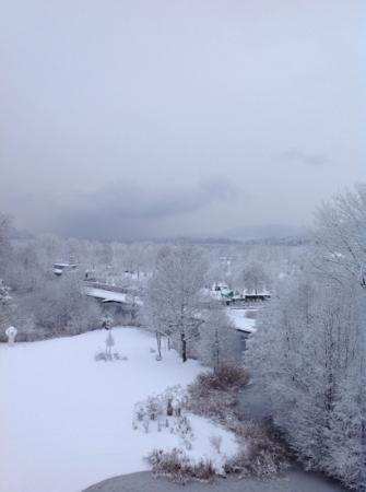 Seepark Hotel: il risveglio con la neve