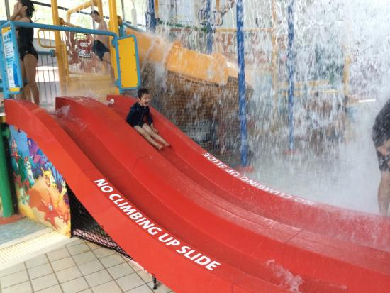 Sydney International Aquatic and Athletic Centres: Waterslides