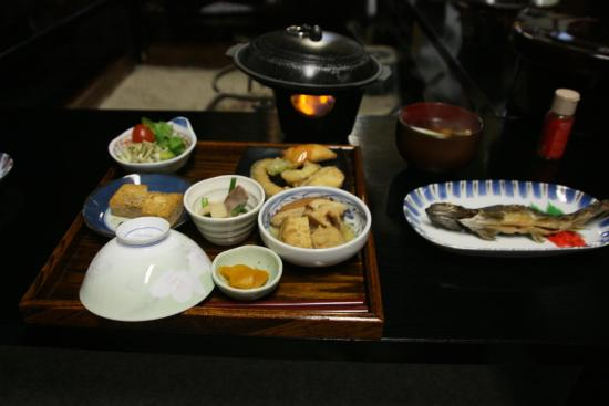 Shimizu: dinner
