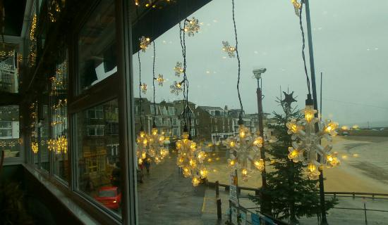 The Beach Restaurant: View on Boxing Day